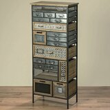 Smithville Industrial Chic 19 Drawers Lingerie Chest byBungalow Rose