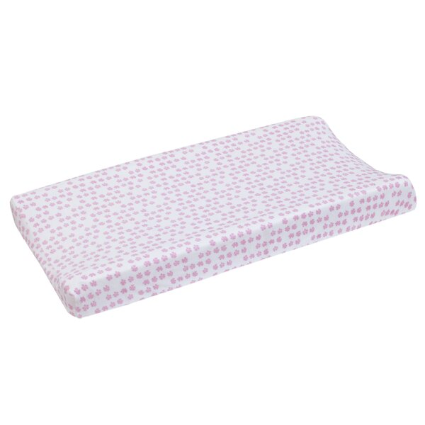 Dwellstudio Sweet Fawn Floral Super Soft Changing Pad Cover By Dwellstudio.