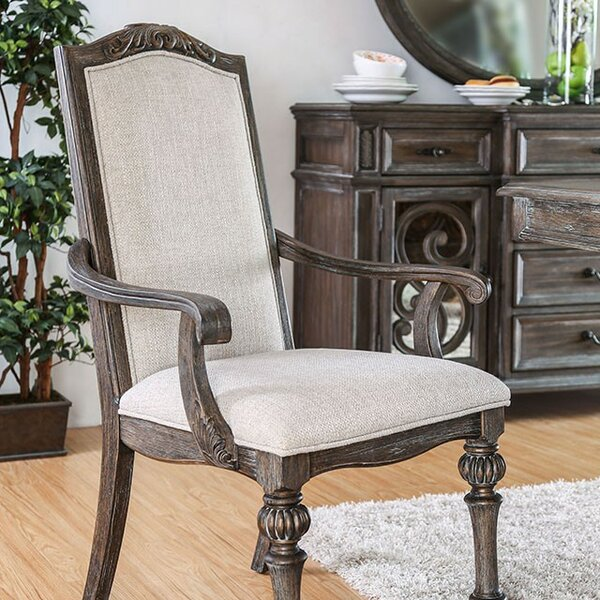 Pennington Upholstered Dining Chair (Set of 2) by Canora Grey