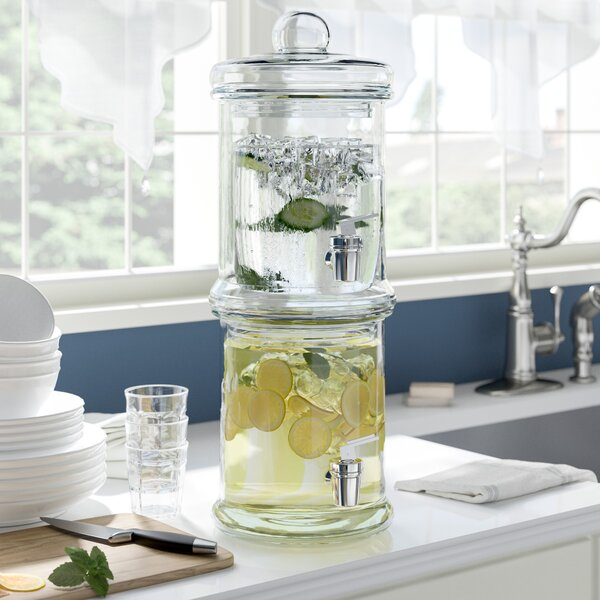 Kylertown Double Beverage Dispenser by Alcott Hill