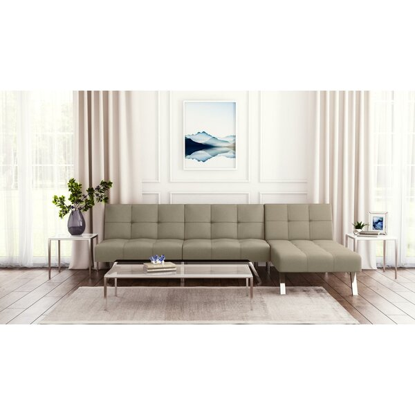 Simon Reversible Sleeper Sectional by Novogratz