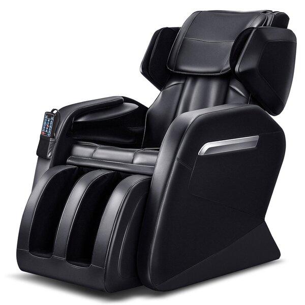 Deals Power Reclining Adjustable Width Heated Full Body Massage Chair