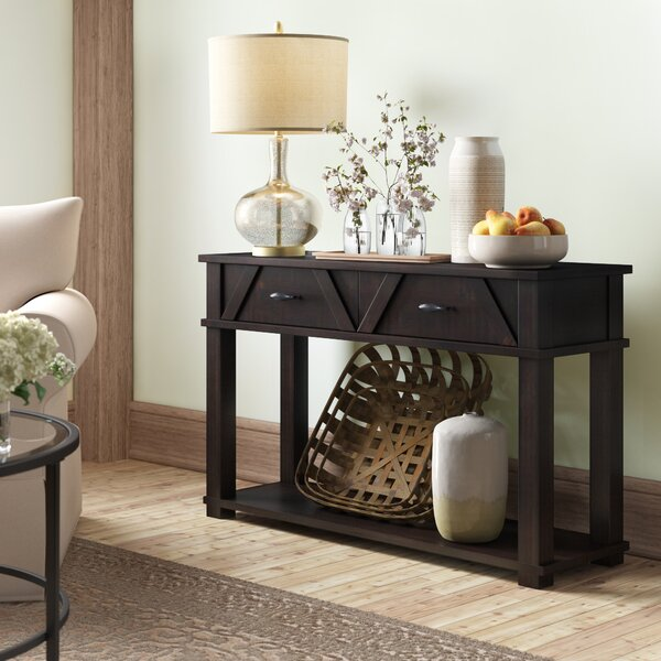 Birch Lane™ Heritage Brown Console Tables