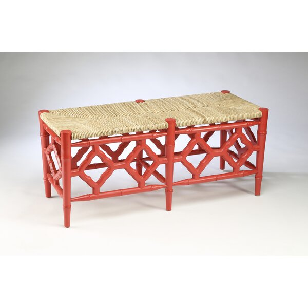 Marites Wood Bench By Bayou Breeze by Bayou Breeze Discount