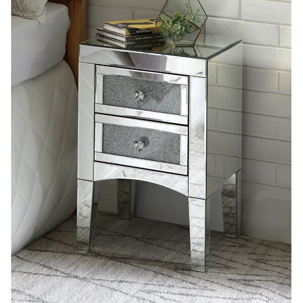 Kailee 2 Drawer Nightstand by House of Hampton