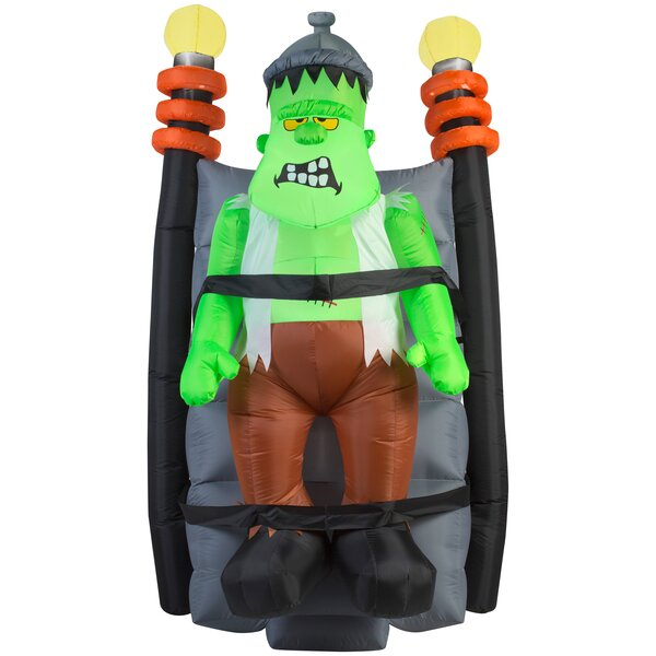 Animated Short Circuit Shaking Monster (HD) Inflatable by The Holiday Aisle
