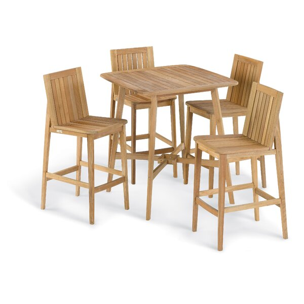 Kentmere 5 Piece Bar Height Dining Set by Bay Isle Home