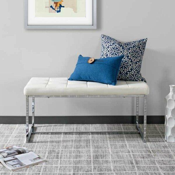 Montclare Modern Upholstered Bench by Orren Ellis