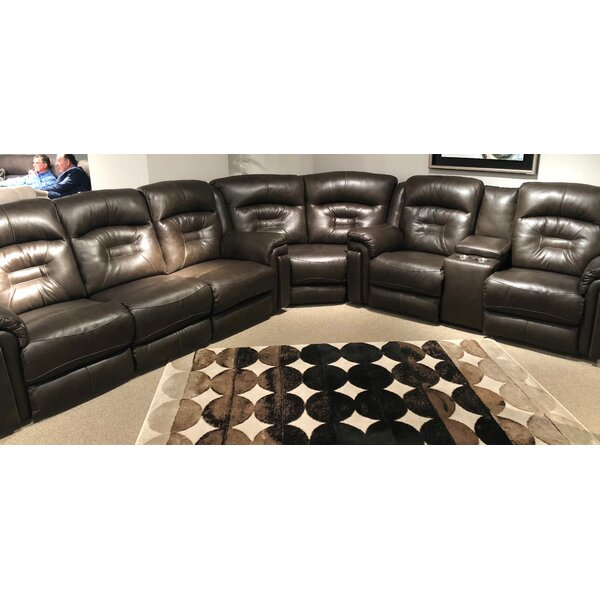 Avatar Leather Reversible Reclining  Sectional by Southern Motion