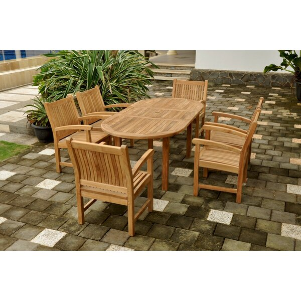 Farnam 7 Piece Teak Dining Set