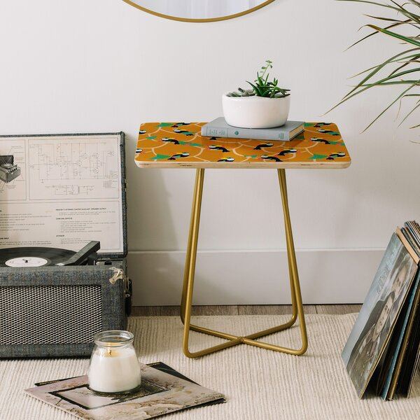 Hello Sayang End Table By East Urban Home
