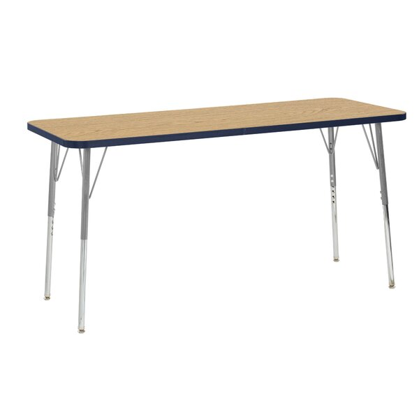 Contour Thermo-Fused Adjustable 24 x 60 Activity Table by ECR4kids