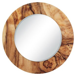 Union Rustic Larabee Forest Accent Mirror