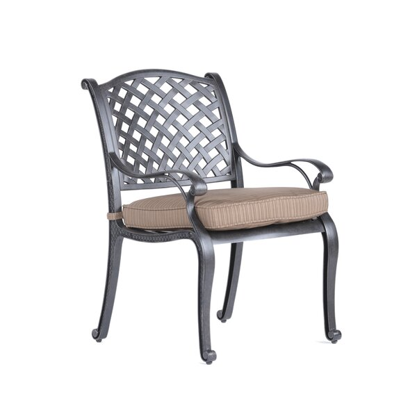 Lehmann Dining Arm Chair by Three Posts