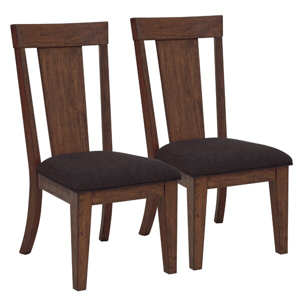 Wyckoff Upholstered Dining Chair (Set of 2) by Gracie Oaks