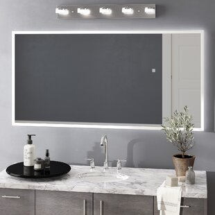 Vanity mirrors with lights youll love wayfair jessalyn led bathroomvanity mirror aloadofball Images