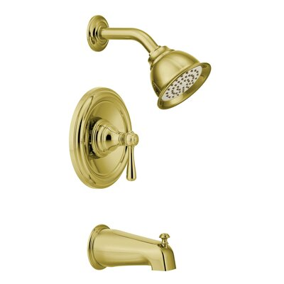 Shower Faucet Tub Handle Wrought Iron Flow Rate 1077 Product Photo