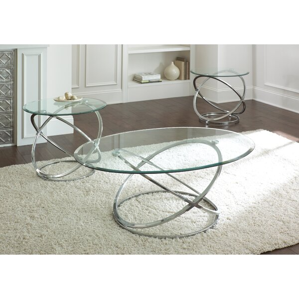 Ashley Down 3 Piece Coffee Table Set by Wade Logan