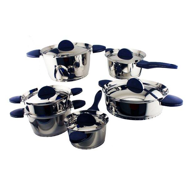 Stacca 11-Piece Cookware Set by BergHOFF International