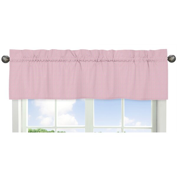 Toile Gingham 54 Window Valance by Sweet Jojo Designs