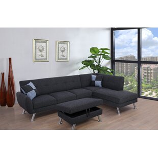 Bannister Sectional with Ottoman