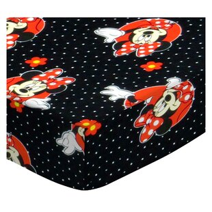 Barkley Minnie Mouse Dots Bedding Sheet By Harriet Bee