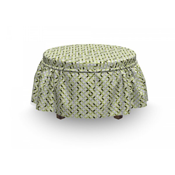 Shades Ottoman Slipcover (Set Of 2) By East Urban Home