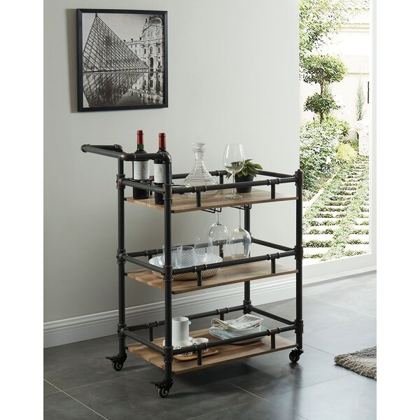 Parham Serving Bar Cart By Williston Forge Today Only Sale