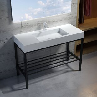 Purchase Wolkeseiben Stone 47 Console Bathroom Sink By InFurniture