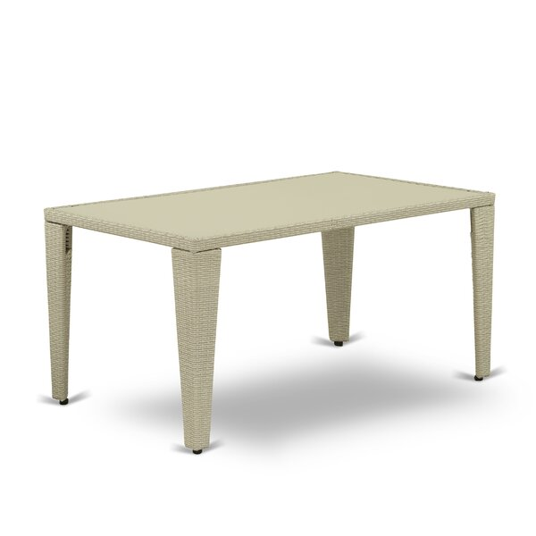 Clearmont Acacia Wood Dining Table by Bay Isle Home