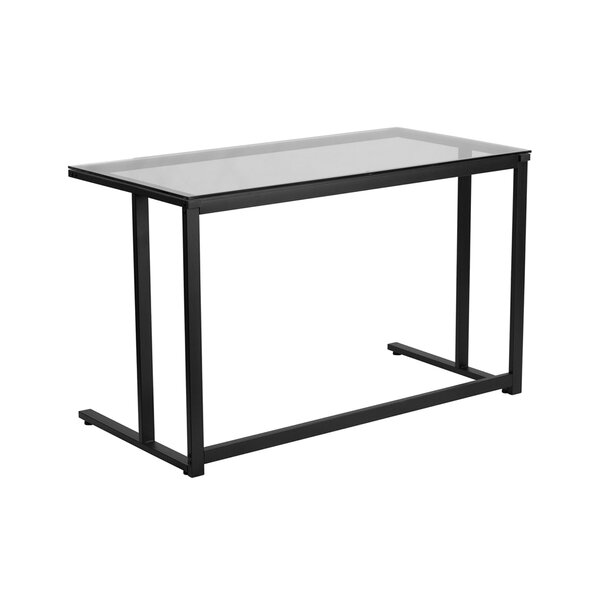 Devereau Glass Desk by Ebern Designs