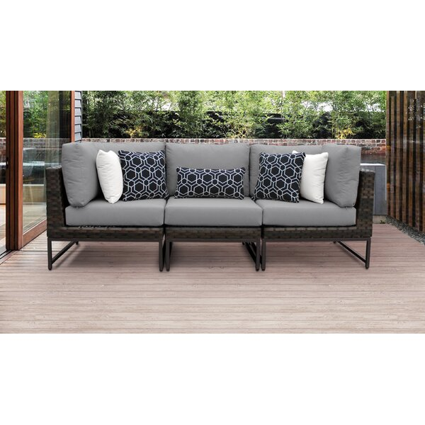 Mcclurg Patio Sectional with Cushions by Darby Home Co Darby Home Co