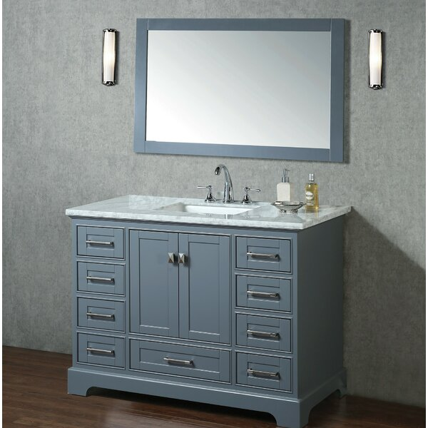 Stian 48 Single Sink Bathroom Vanity Set with Mirror by Willa Arlo Interiors