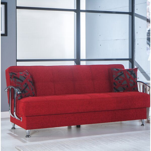 Shop Fashion Nassar Convertible Sofa by Latitude Run by Latitude Run