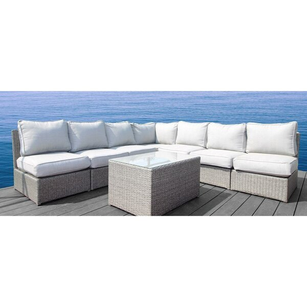 Simmerman 8 Piece Sectional Set with Cushions by Brayden Studio