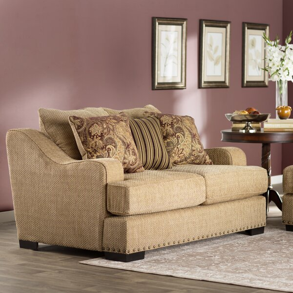 New Trendy Dunning Loveseat by Darby Home Co by Darby Home Co