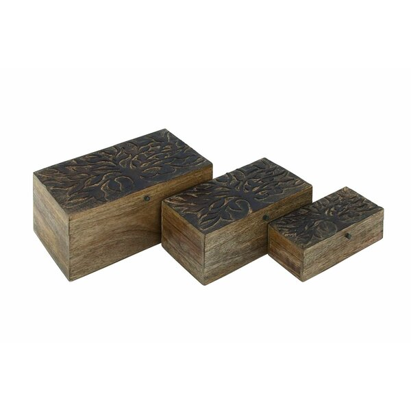 Tree Wood 3 Pieces Box Set by Cole & Grey