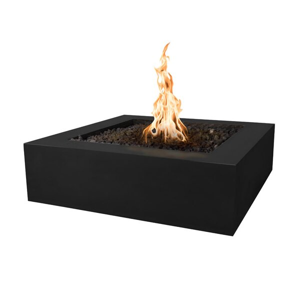 Quad Concrete Fire Pit by The Outdoor Plus