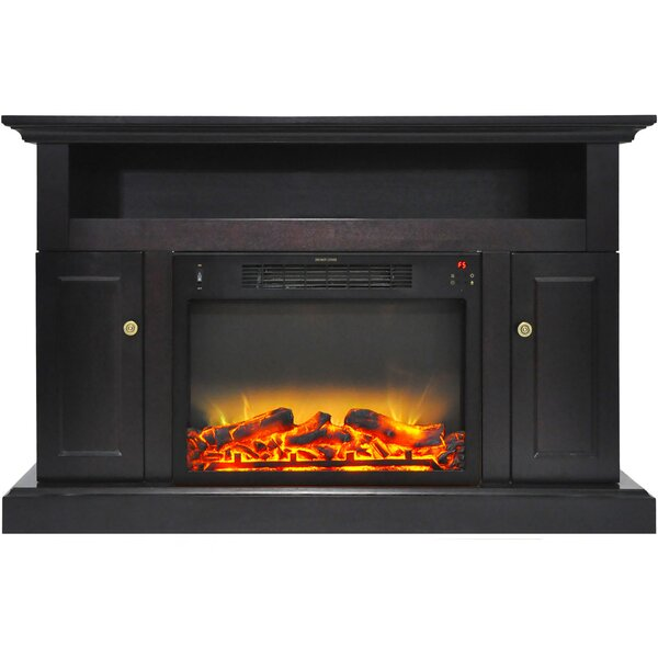 Broncho TV Stand with Electric Fireplace by Alcott Hill