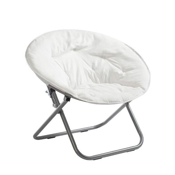 Sharan Microsuede Saucer Papasan Chair By Ebern Designs