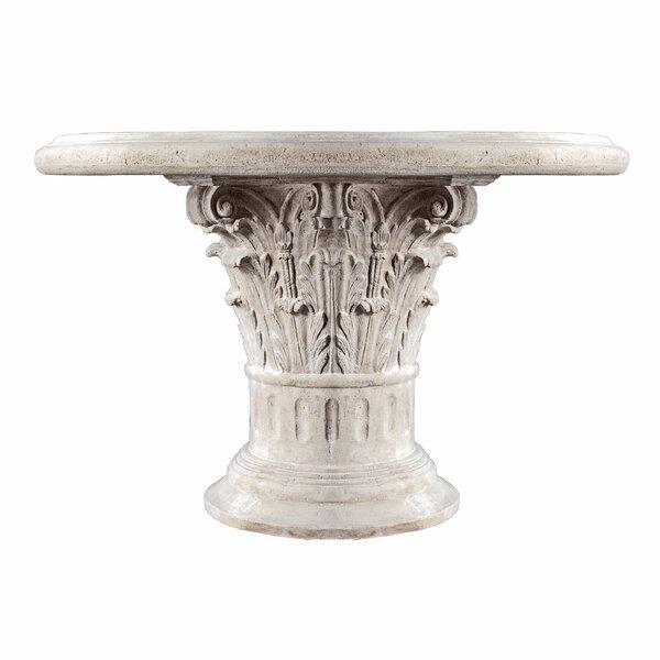Roman Corinthian Capital Architectural Table by Design Toscano