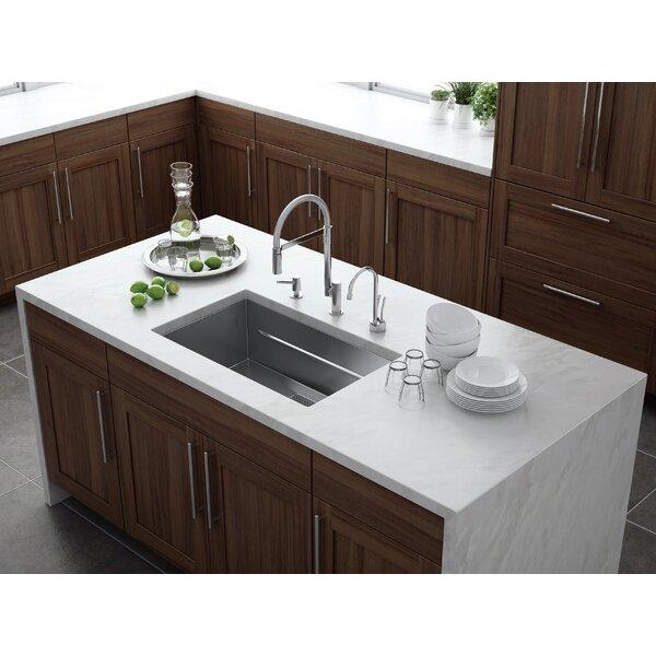 Peak 29 L x 18 W Undermount Kitchen Sink by Franke
