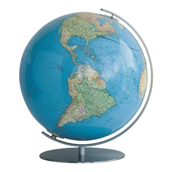 Rothenburg Illuminated Desktop Globe by Columbus G