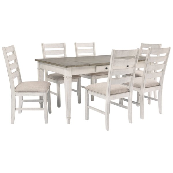 Buddleia 7 - piece Counter Height Dining Set by August Grove August Grove