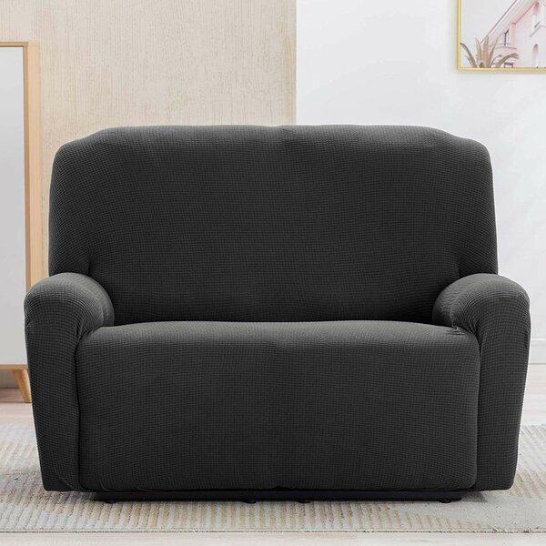 Box Cushion Loveseat Slipcover (Set Of 2) By Red Barrel Studio