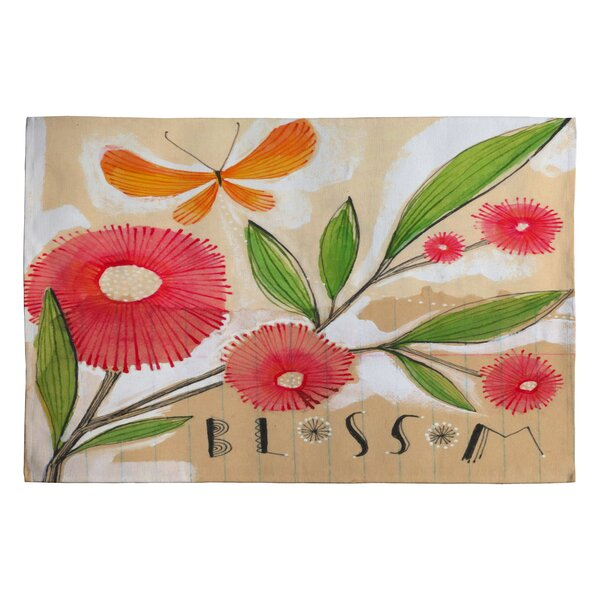 Cori Dantini Blossom 1 Novelty Rug by Deny Designs