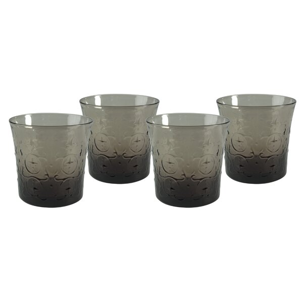 Sylar DOF Glass (Set of 4) by House of Hampton