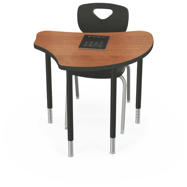 Wood Adjustable Height Collaborative Desk by Balt