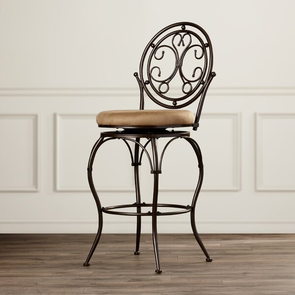 Sonya 30 Swivel Bar Stool by Fleur De Lis Living