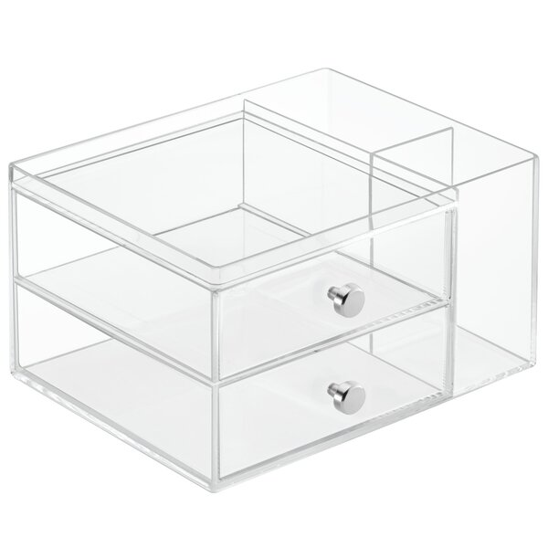Clarity Cosmetic Organizer by InterDesign